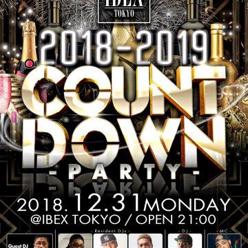 IBEX TOKYO NYE PARTY 2019!!!