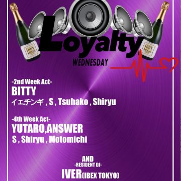 """LOYALTY"" Every 2nd and 4th Wednesday!"